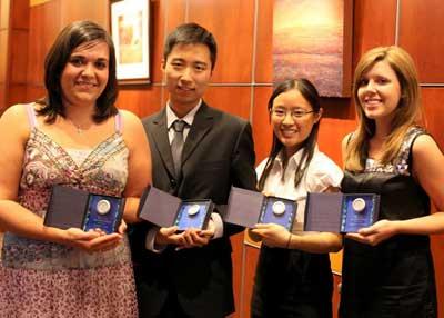 President's Prize winners