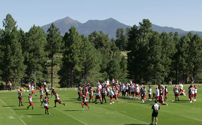 Cardinals training camp at NAU