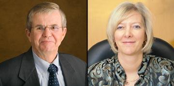 John Haeger and Leah Bornstein