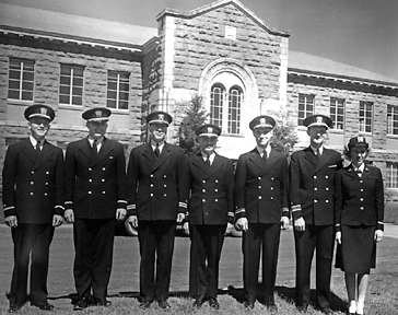 Naval officers in 1944.