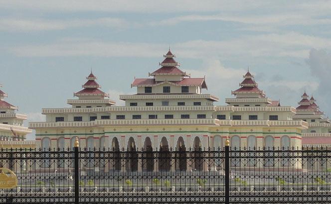 Myanmar parliament building