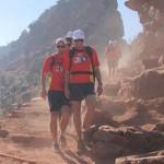 Gold Coast Suns hiking Grand Canyon