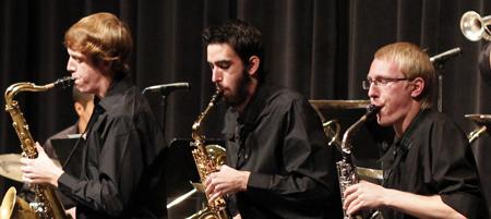 NAU jazz performers