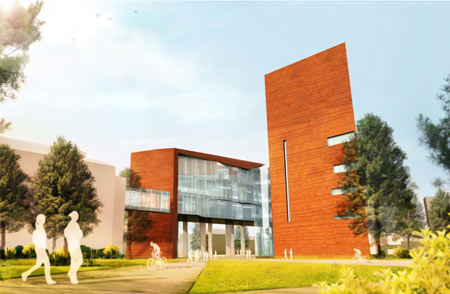 Science and Health Building rendering