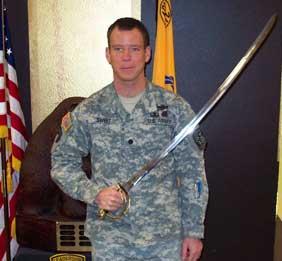 Kevin Sweet cadet