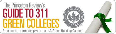 The Princeton Review's Guide to 311 Green Colleges