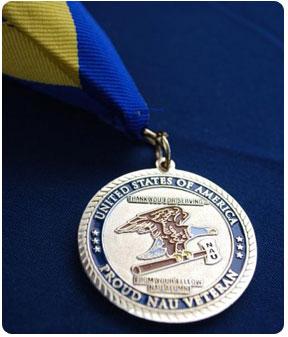NAU veteran medal