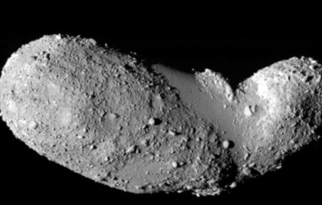 Asteroid Itokawa.