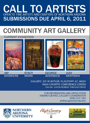 High Country Conference Center Artist Ad