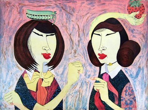 """""""Peddlers"""" by Yuji Hiratsuka"""