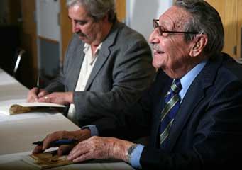 Raul H. Castro book signing