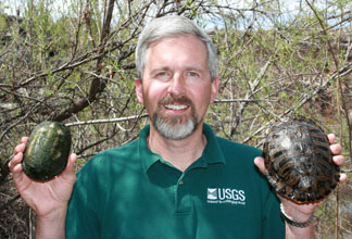 Jeff Lovich and turtles
