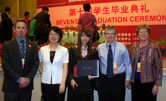 chinese foreign graduate