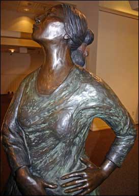 Gorman statue