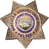 NAU police badge