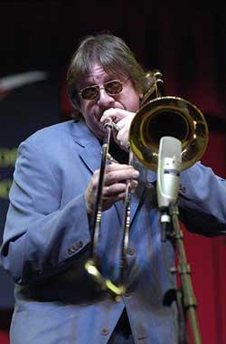 Famous trombonist