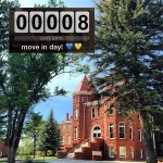 Move-in countdown at Old Main