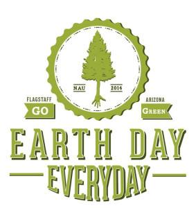Flagstaff, Arizona Go Green Earth Day Everyday