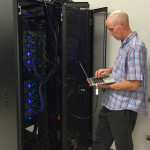 Chris Coffey and the Monsoon computer cluster