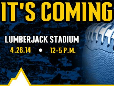 It's Coming Lumberjack Stadium 4/26/14 12-5 pm