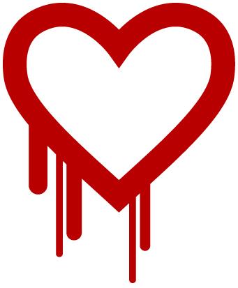 Heartbleed logo.