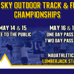 track and field championship poster