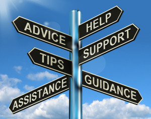 Advice, Help, Tips, Support, Assistance, Guidance