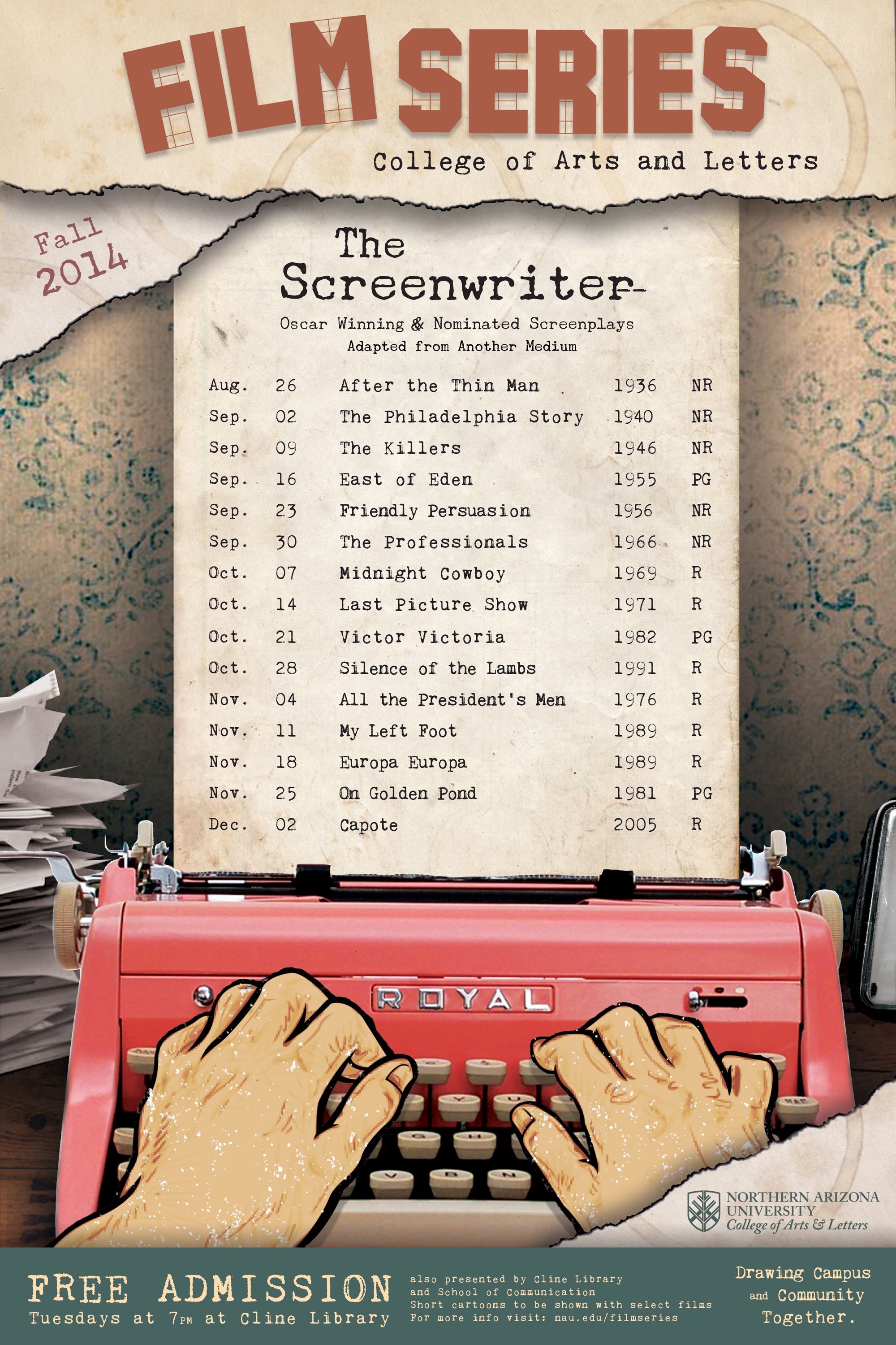 Fall 2014 College of Arts and Letters Film Series
