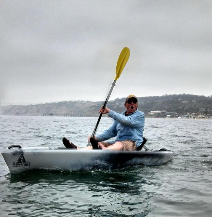 Rick Wiselus kayak