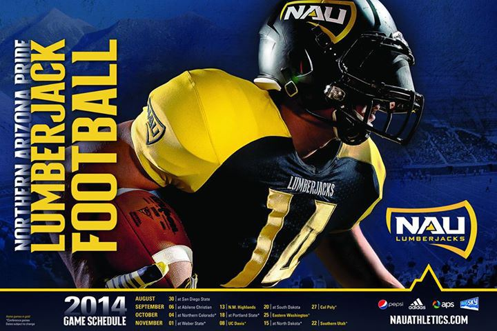 Northern Arizona Pride Lumberjack Football