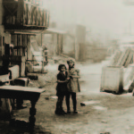 Children in the Bedzin ghetto