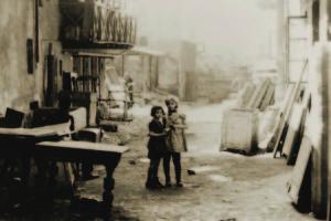 Children in the Bedzin ghetto