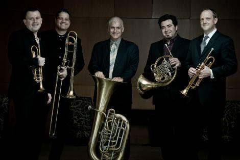 The Boston Brass ensemble