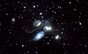 Discovery telescope view of the galaxy