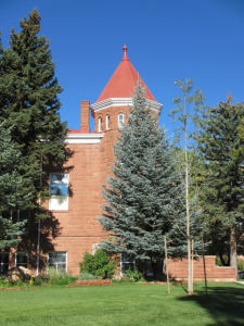 The east side of Old Main