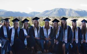 NAU's 2014 Female Swim & Dive graduates