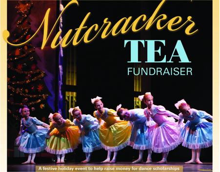 Nutcracker Tea Fundraiser a festive holiday event to help raise money for dance scholarships