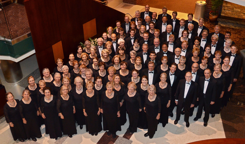 Choir at the 'Messiah' performance