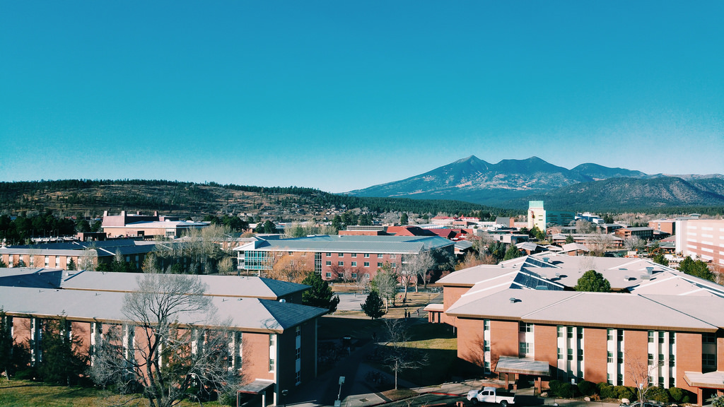 NAU, the campus and the peaks
