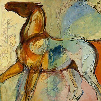 """""""Wild at Heart"""" art"""