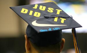 Just Did It Class of 2014 Grad cap