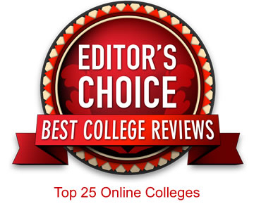 Editor's Choice Best College Reviews Top 25 Online Colleges