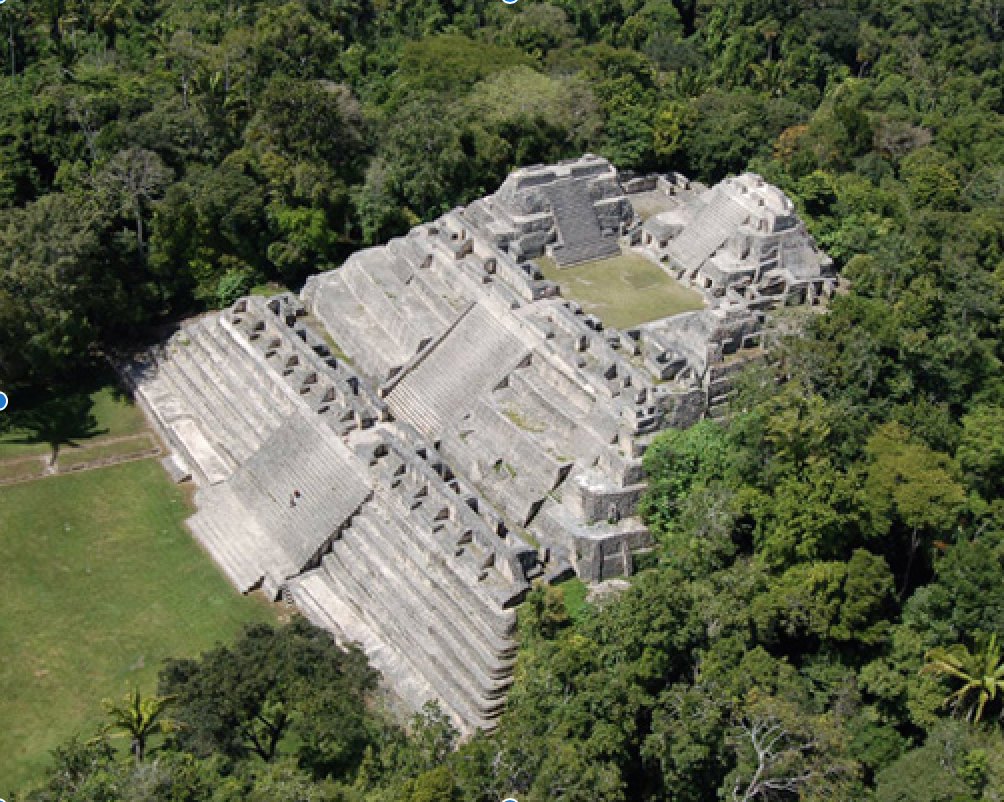 Caracol aerial view