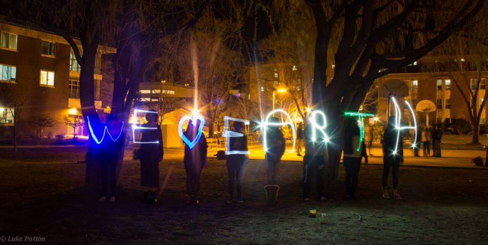 NAU We heart Earth