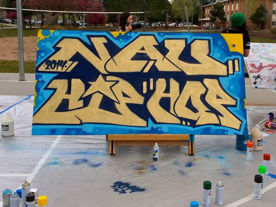 NAU Hip Hop 2014 board