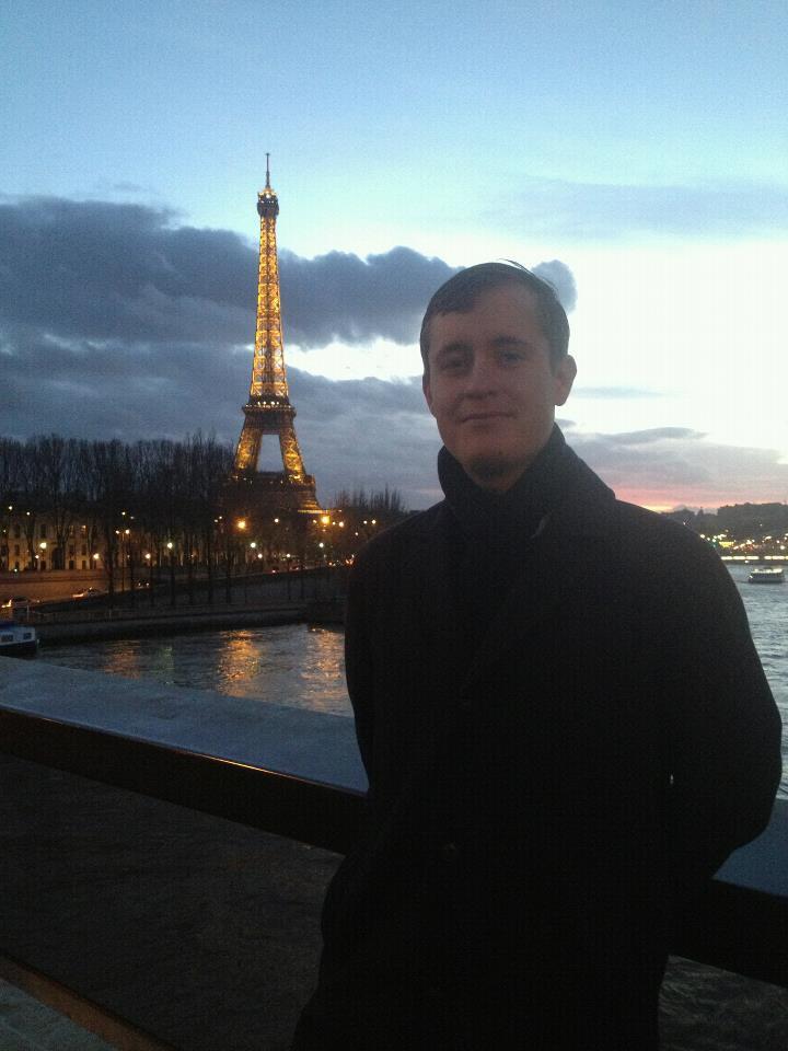 Ricardo Peterson in Paris