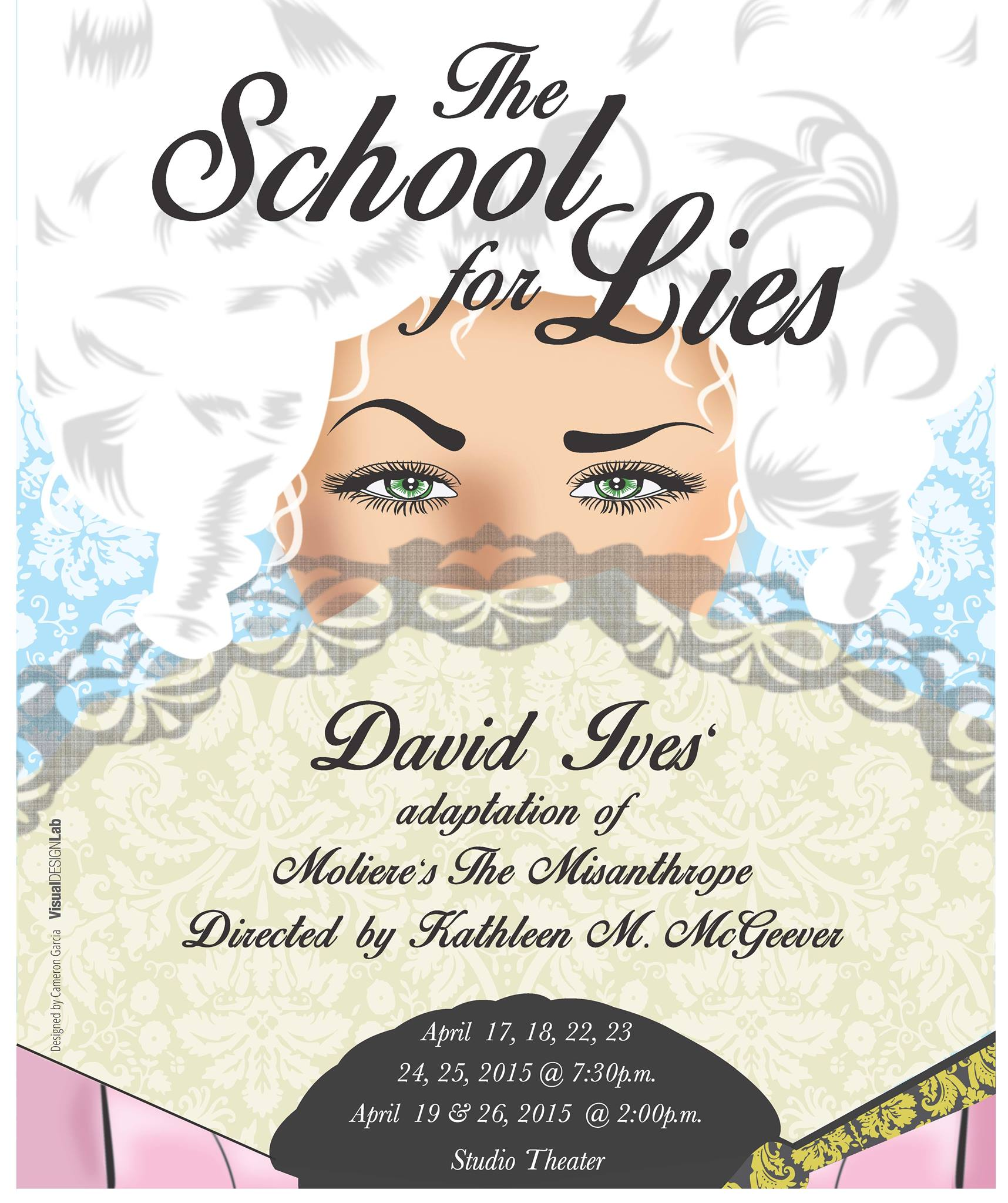The School for Lies poster