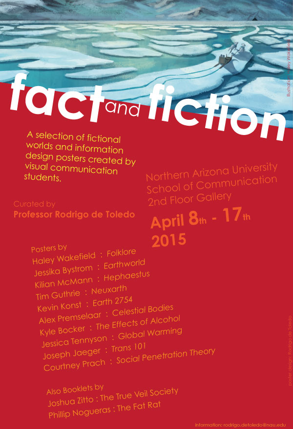 Fact and Fiction April 8th-17th poster