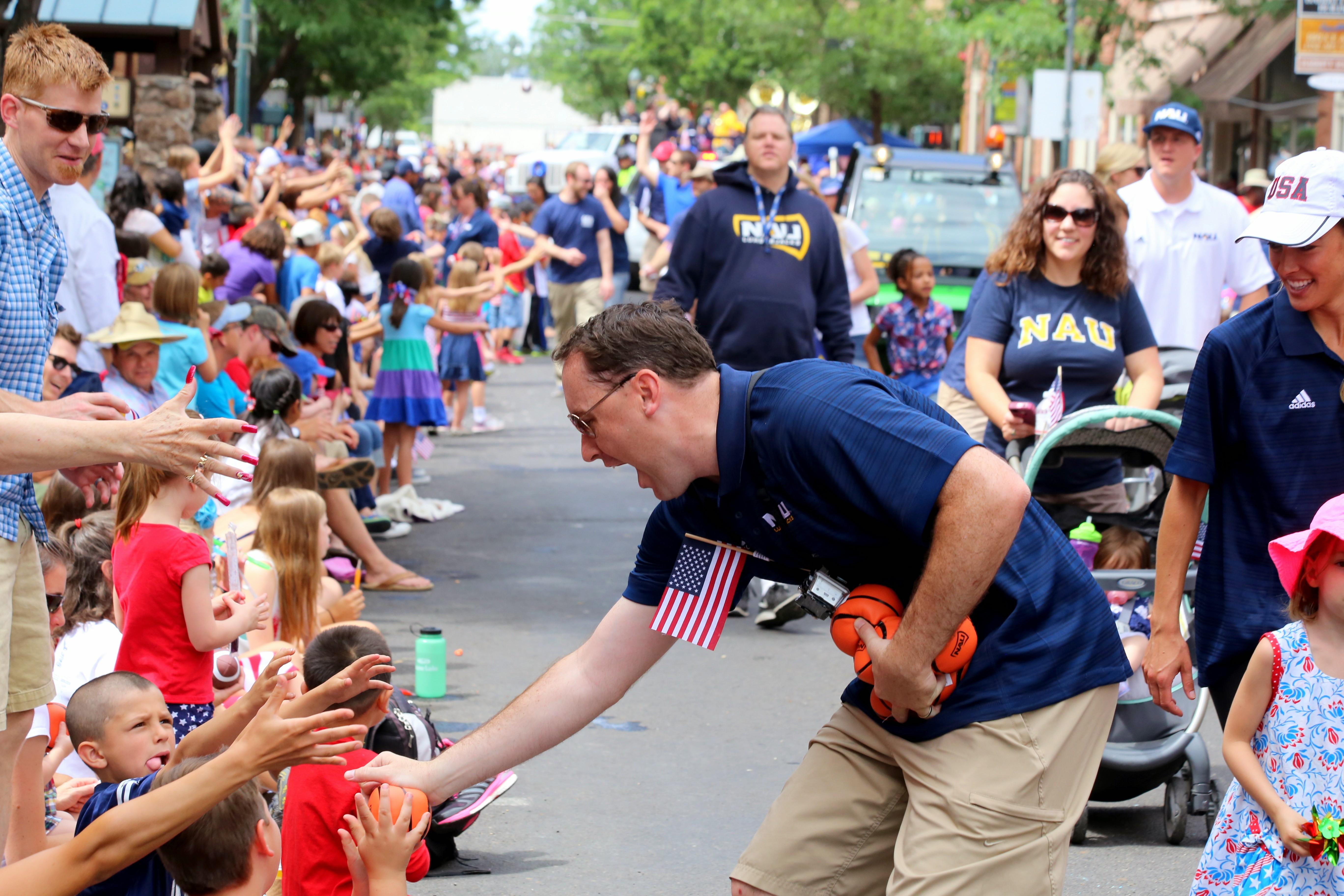 NAU at the Fourth of July Parade