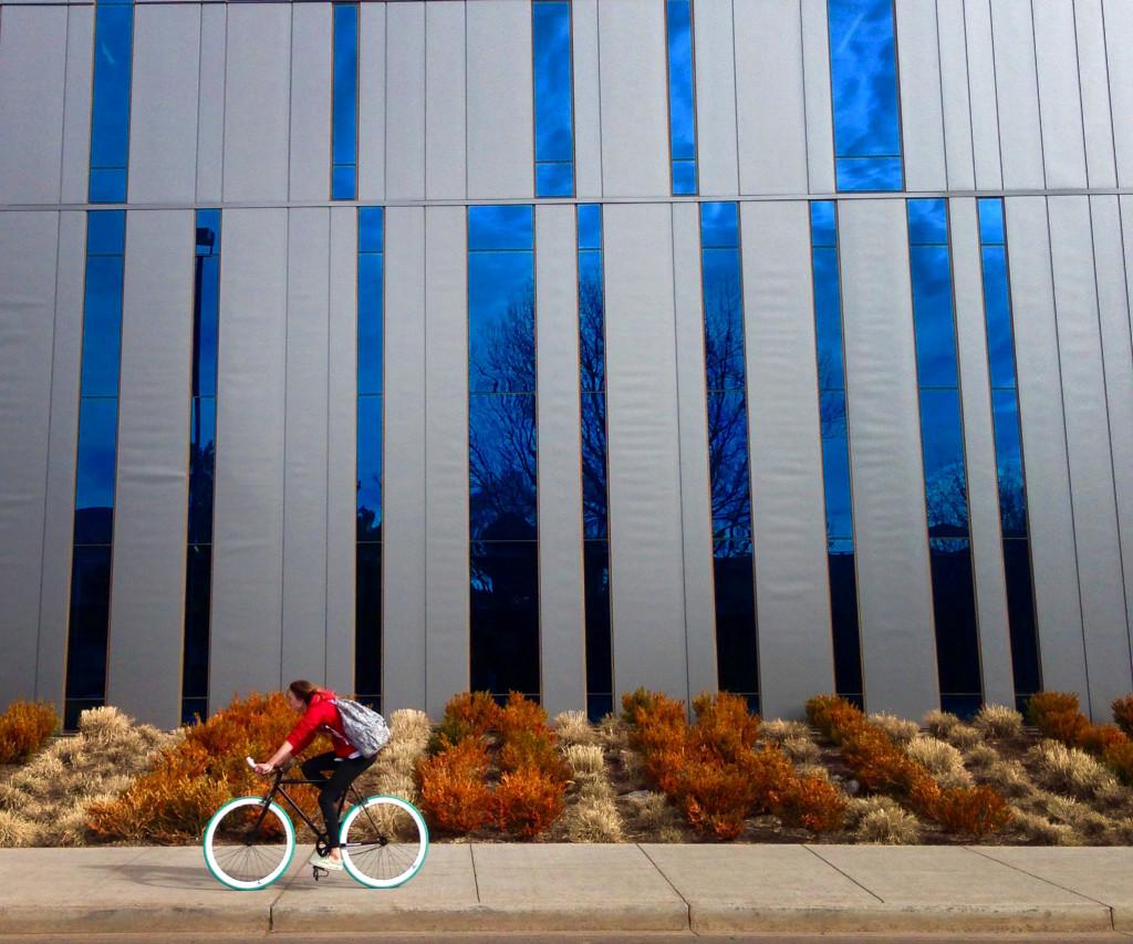 Student bikes, Bike to Work Week